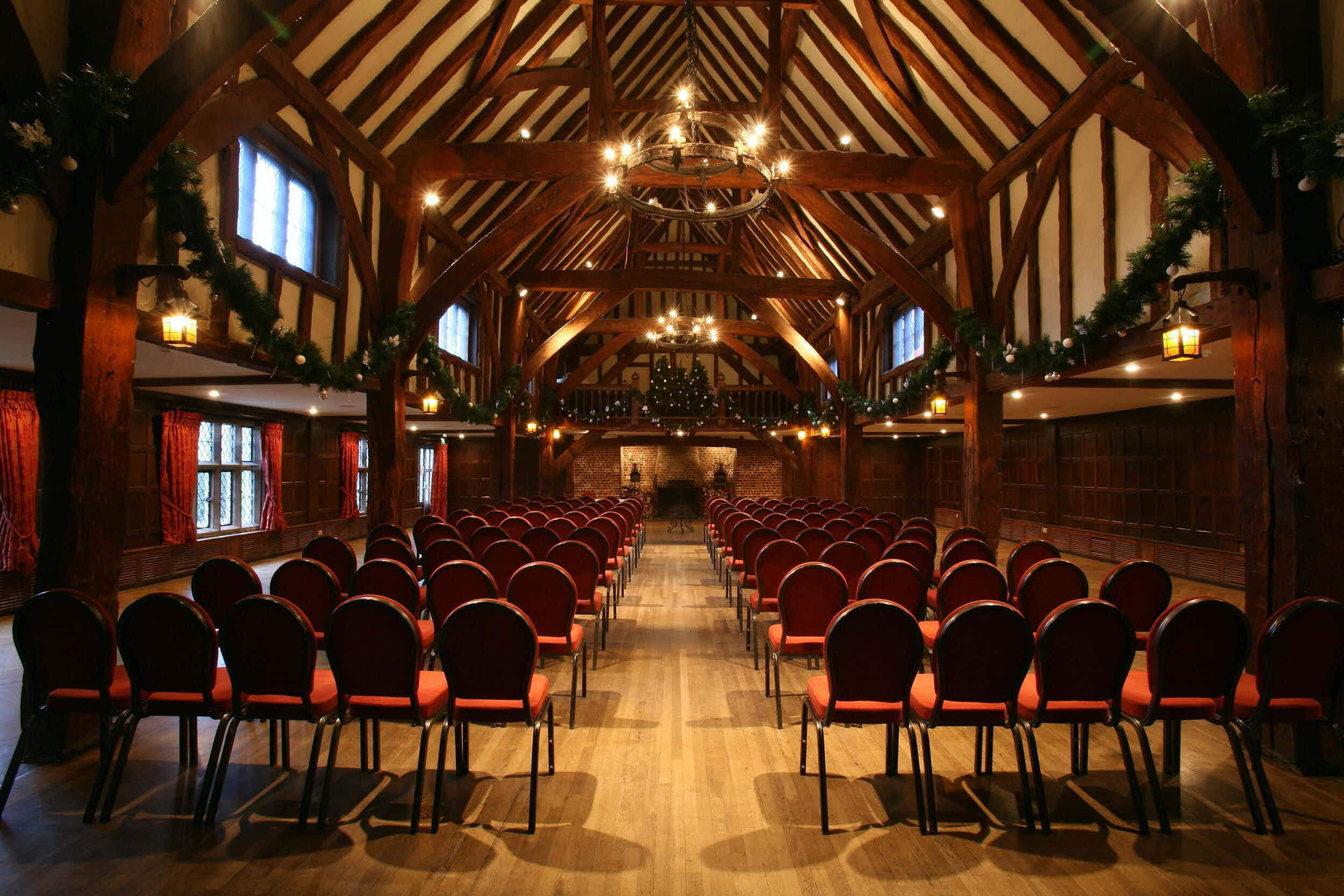 Tithe Barn , Great Fosters
