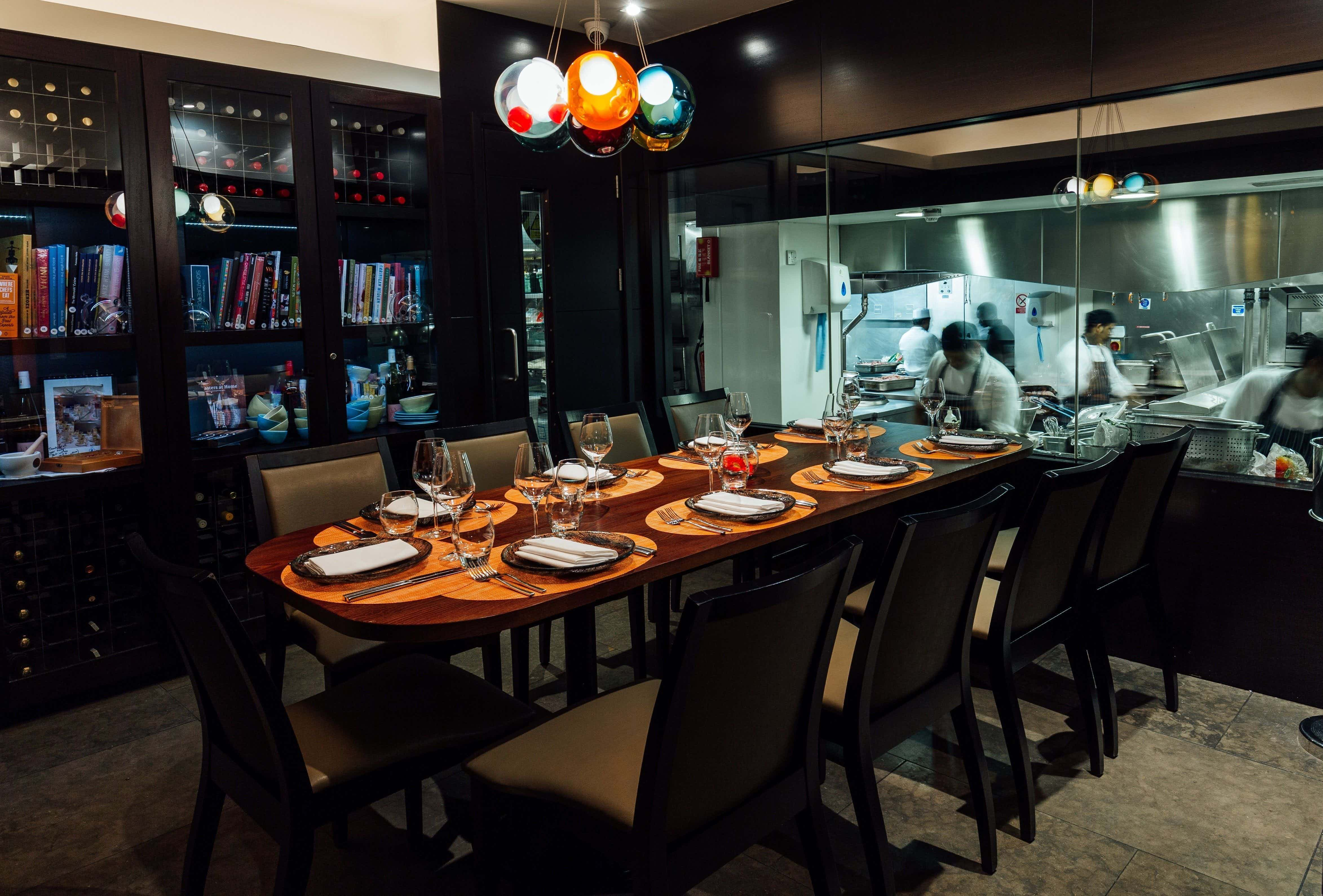 Chef's Table, Benares Restaurant & Bar