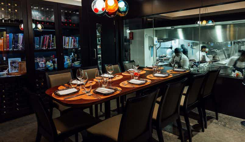 Lunch Sitting, Chef's Table, Benares Restaurant