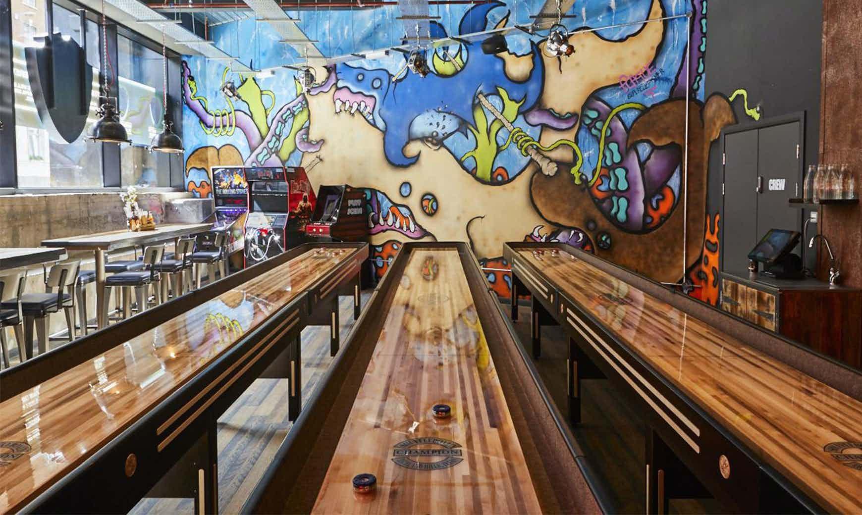 Games Room, BrewDog Tower Hill