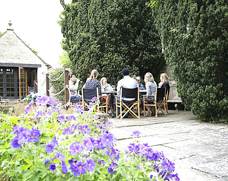 The Willow **With its own personal terrace overlooking the original mill, the Willow is a great place to meet, dine, share a drink or BBQ with friends, colleagues or family for up to 15 guests.**