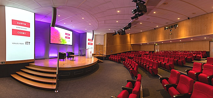 Kingston Theatre **Hire the Kingston Theatre at IET Austin Court for one of the best options for conference venue hire Birmingham has to offer.**