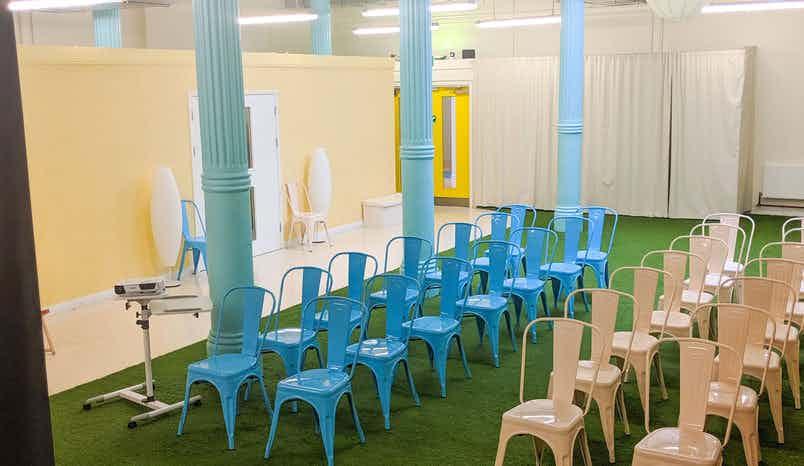 The Atrium Hall , The Minded Institute