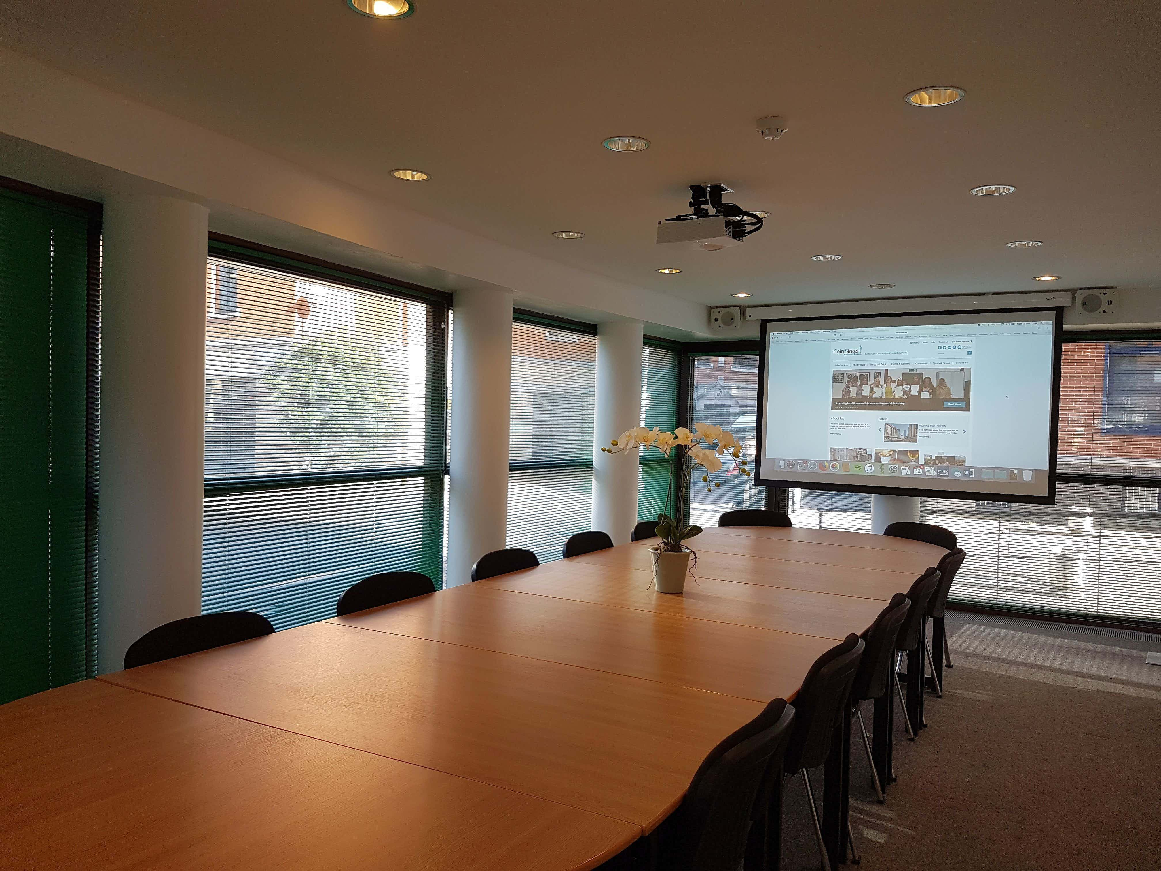 Palm Meeting Room, Coin Street Conference Centre