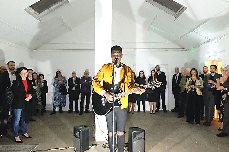 The Tower **The Tower is a beautifully sunlit room with a large arched window. It can be used both as a creative and open space or as a corporate room with a productive and uncluttered feel.**   The venue can