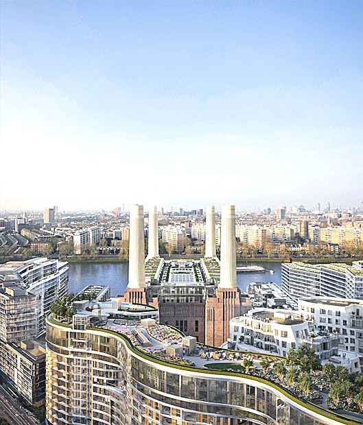 Gilbert Scott Terrace **The Gilbert Scott Terrace is a brand new, awe-inspiring outdoor Space for hire at Battersea Power House, set to open in 2021.**