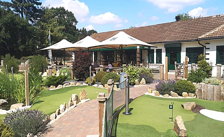 Whole Venue **Hire out Putt in the Park Acton in its entirety for parties of up to 250 people for a unique, outrageously fun experience, be it a corporate team away day, wedding venue or private par-tee.**