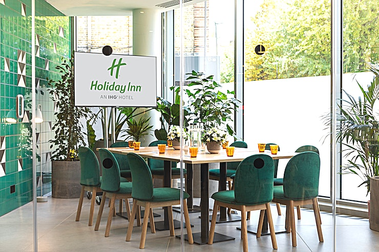 Green Room **The event Space has all-natural daylight  a dedicated events manager and bespoke décor that can be adapted to your needs.**  The venue can be accustomed for all occasions, including boardroom meet