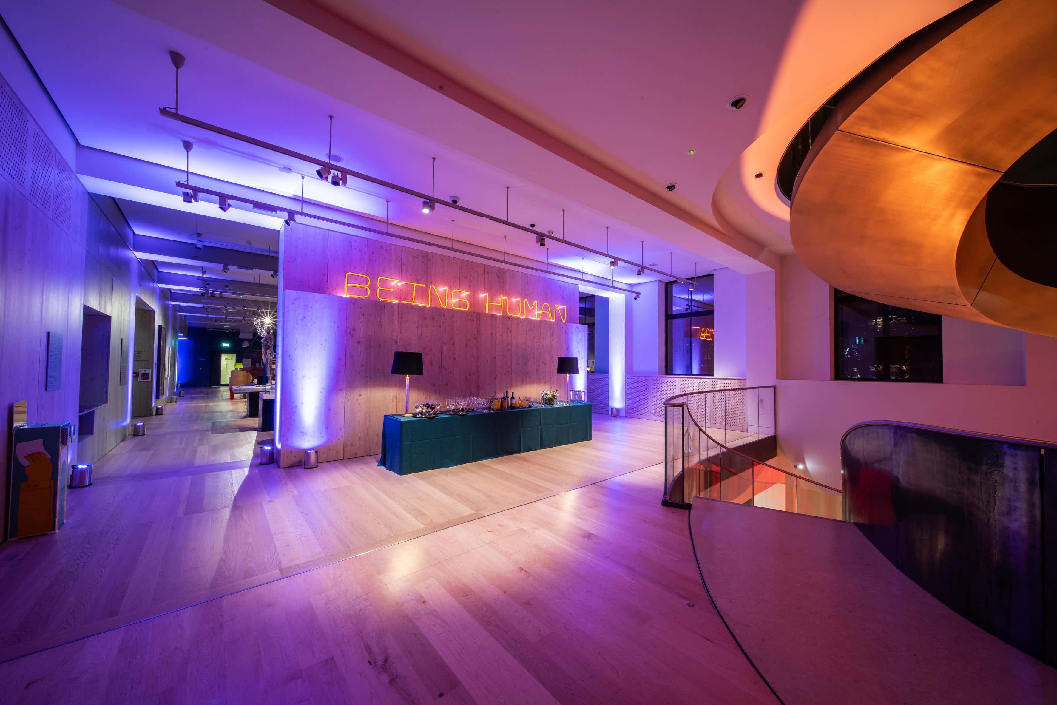 Being Human Gallery, Event Spaces at Wellcome Collection