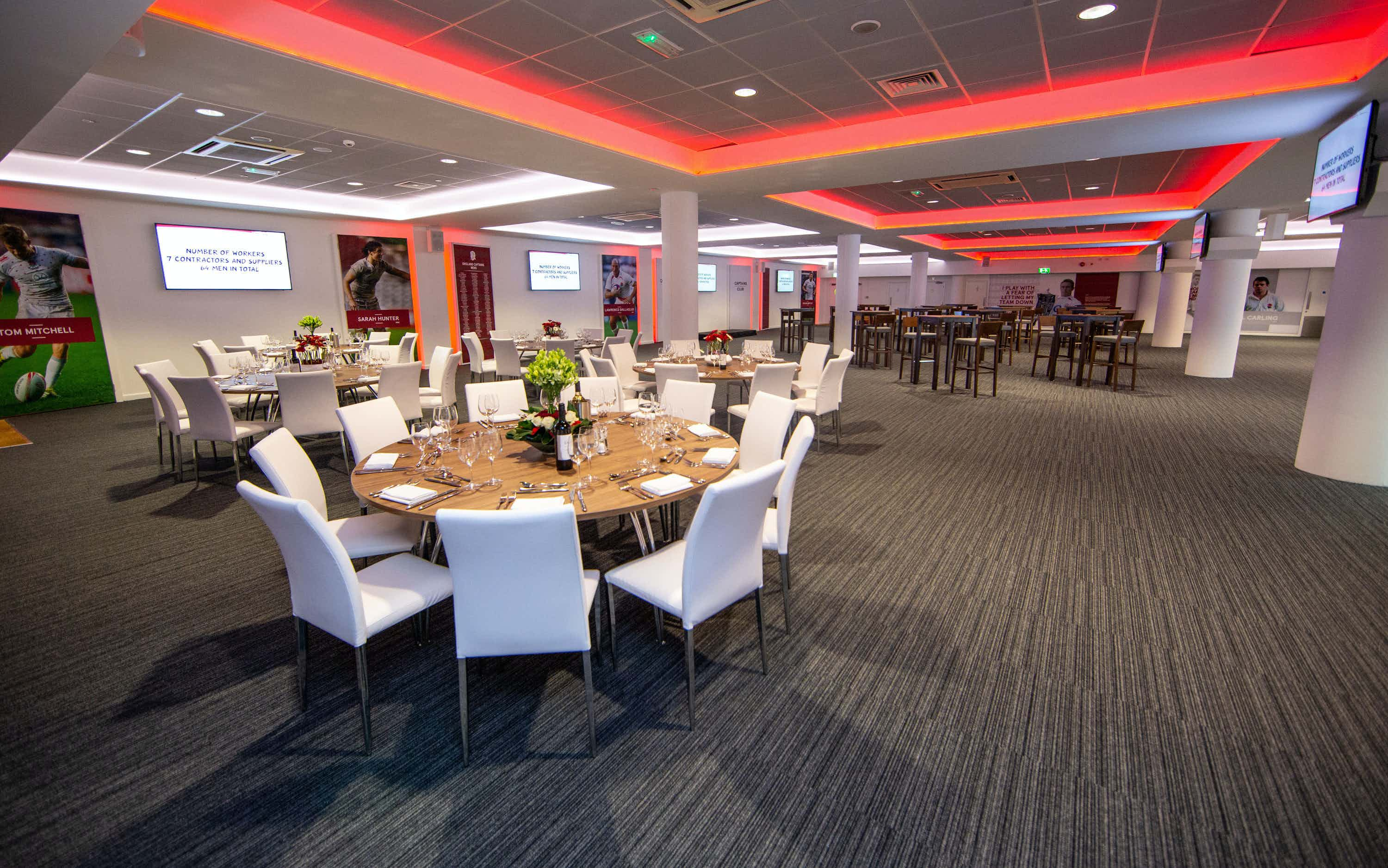 Captains Club, Twickenham Stadium