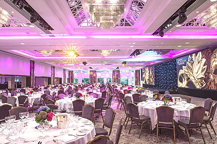 Nine Kings Suite **The Nine Kings suite at Royal Lancaster London is acknowledged as Europe's ultimate venue for product launches, conventions, and a wide range of amazing events.**   Its scale and adaptability are
