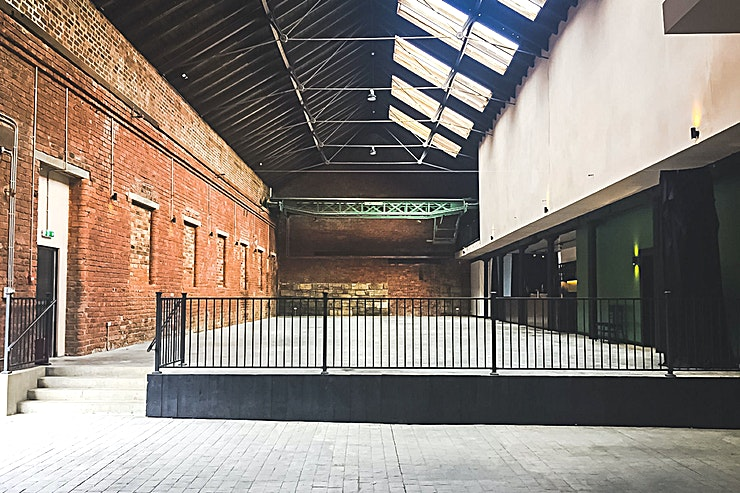 Whole Venue **The Engine Works is a brand new multi-Space venue just 20 minutes north of Glasgow Central Station.**  
