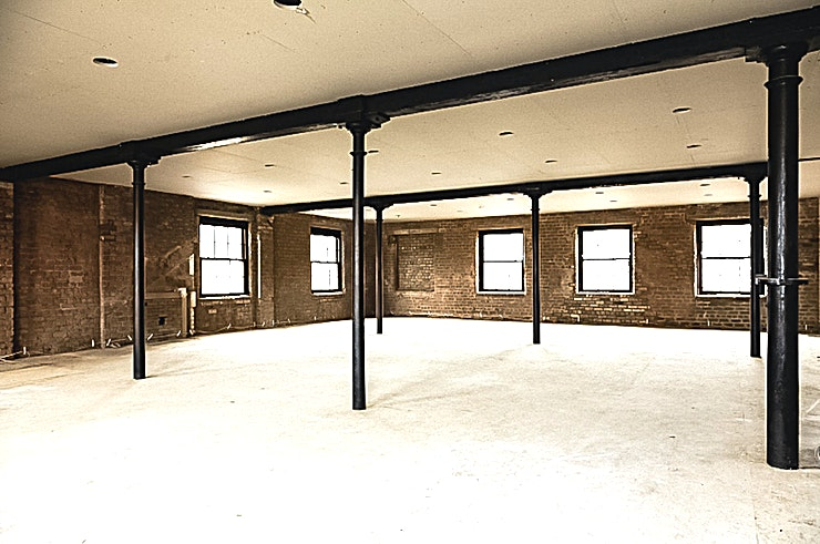 The Print Room The Print Room at The Engine Works is a versatile Glasgow event Space for hire.  The Print Room is located at the top of The Engine Works. It has the capacity for up to 350 people and is perfect for creative endeavours.   From photo-shoots to art installations, this blank canvas Space is perfect any event
