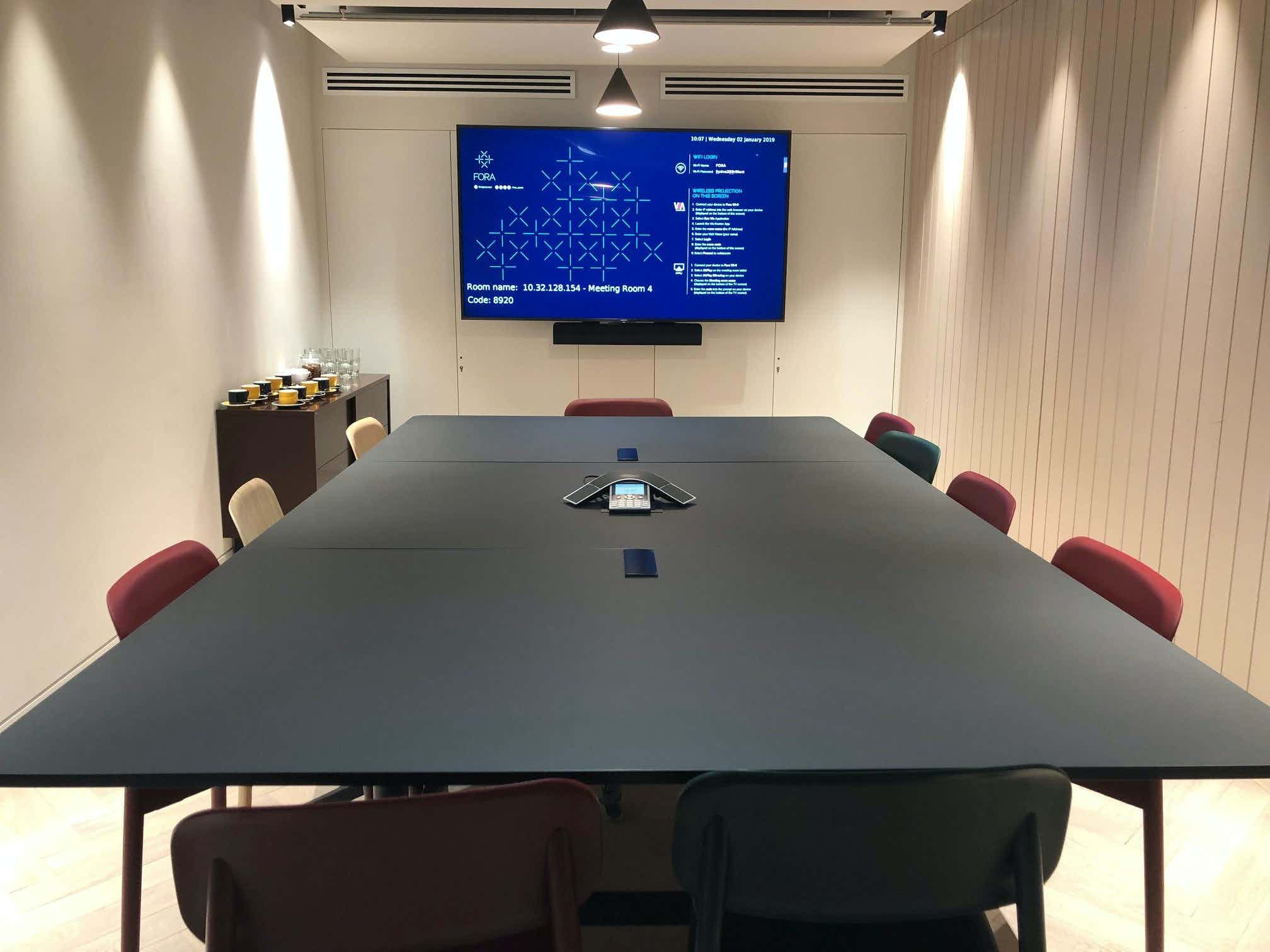 Meeting Room 4, Fora Reading