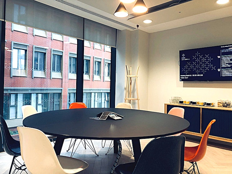 Meeting Room 6 **Meeting Room 6 at Fora Reading is a state-of-the-art meeting room for hire in Reading.**