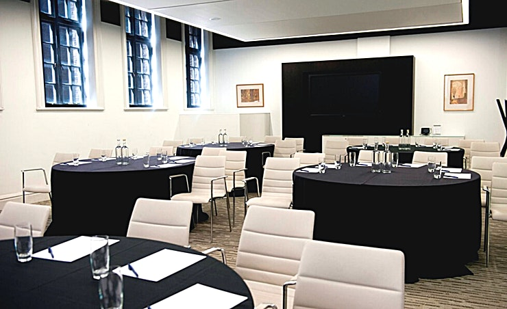 Ground Floor Meeting Room 5 **Meeting Room 5 at Euston Square is a flexible creative Space in central London.**
