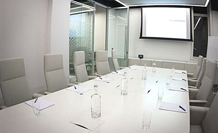 Ground Floor Meeting Room 6.7 **Ground Floor Meeting Room 6.7 at 30 Euston Square is a spacious creative Space for hire near Euston in central London.**  G.6.7 is fully equipped with integrated AV equipment and LCD screen to provide you with an ideal breakout space - perfect for seminars, workshops, meetings and training events.
