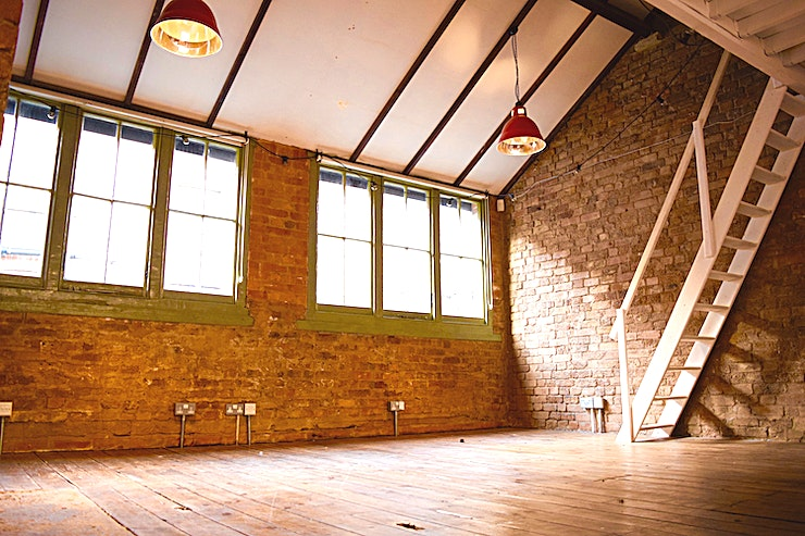 Venue Hire **A converted first-floor studio in a private gated mews in Bethnal Green available for photoshoots, filming, and events.**