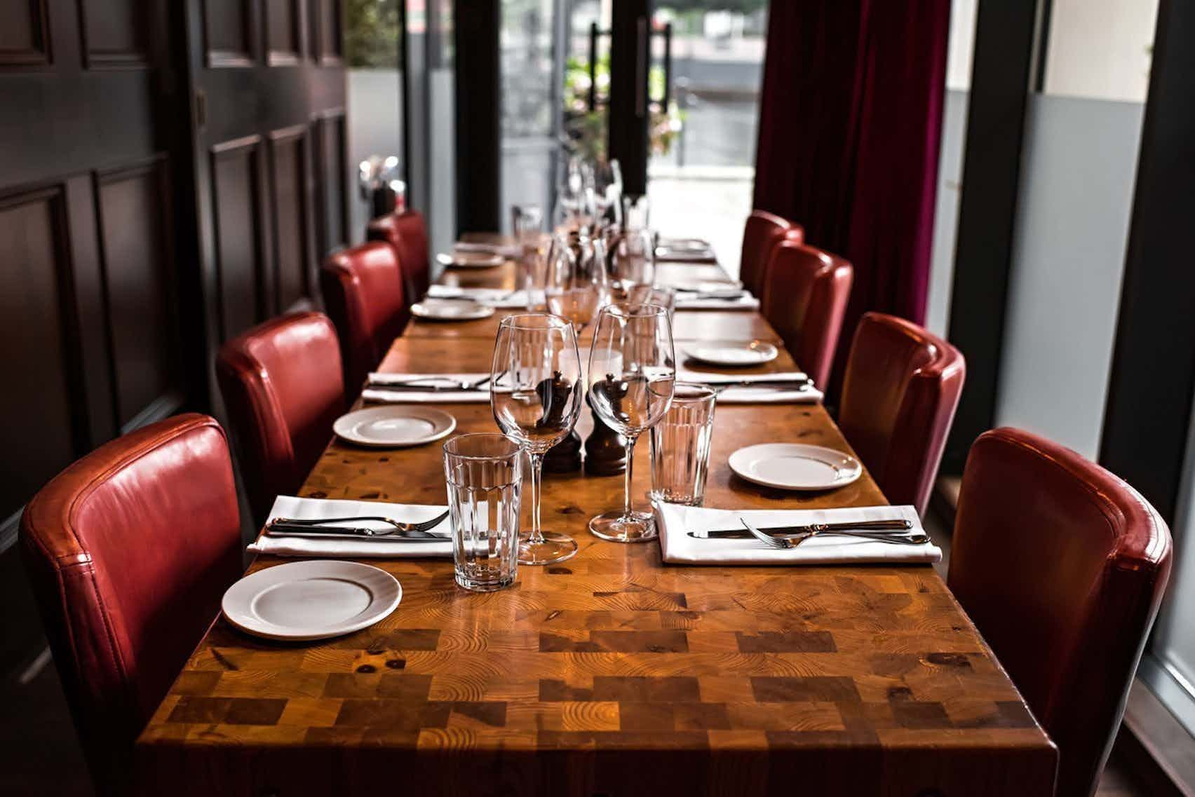 Private Dining Room, Goodman Canary Wharf