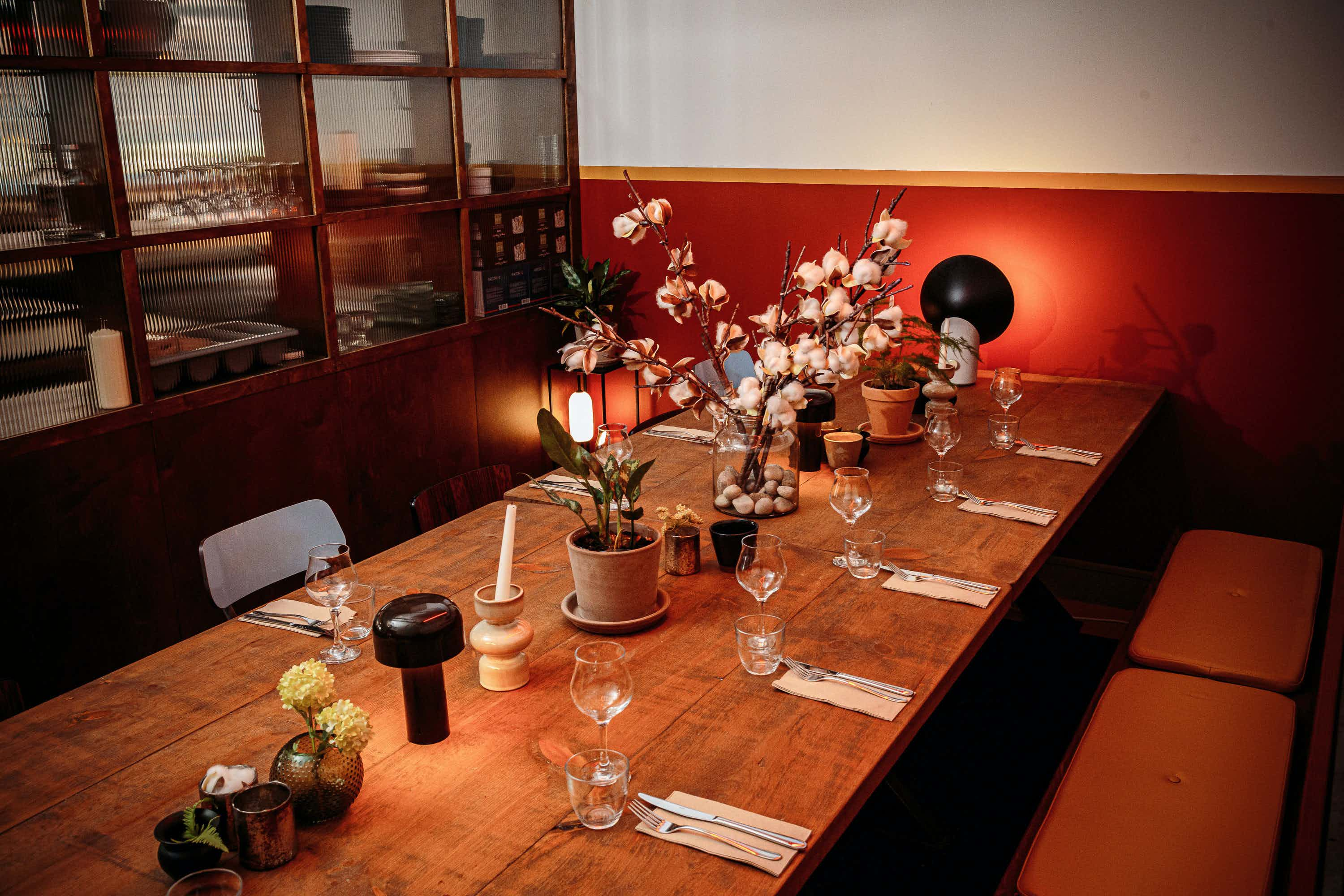 Private Dining Room, The Cotton Factory