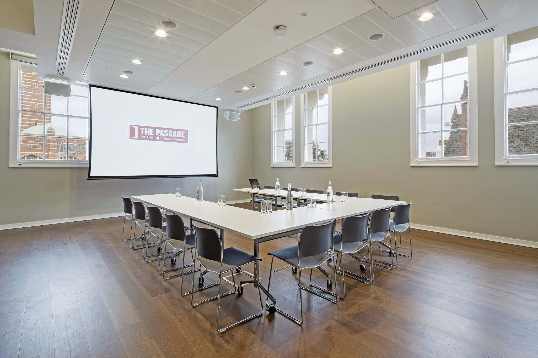 Conference Room & Rooftop Garden, Cathedral View