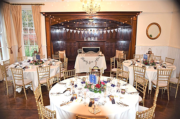 Queens Room **The Queens Room at Woodhall Spa Manor is a stylish multi-purpose event Space for hire in Lincolnshire.**  The Queens Room has a magnificent walk-in fireplace and a beautifully restored hardwood parquet dance floor.