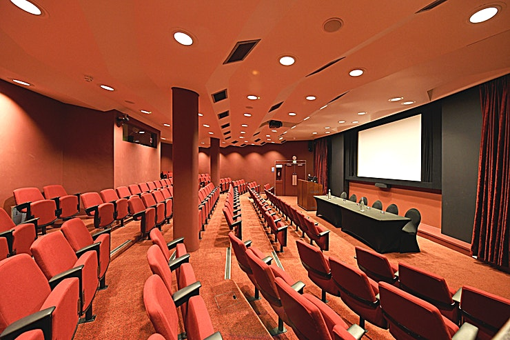 Auditorium **Looking for an auditorium for hire in London? Look no further than SCI Belgravia.**  This modern Auditorium is unique, climate-controlled and a fully equipped graduated theatre located on the lower