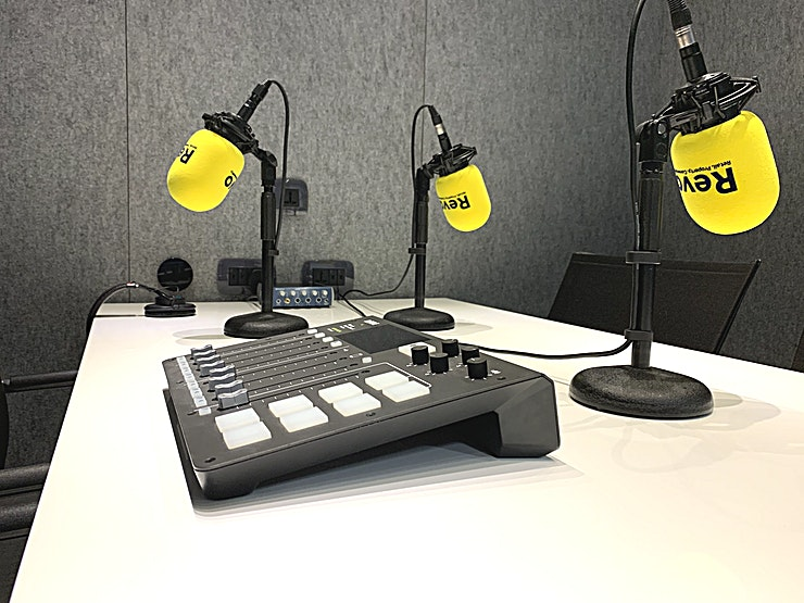 PodSpot Studio **This new podcast and voiceover production studio is a fantastic addition to the London studio landscape.**  Located just 2 mins from Oval tube station and 15 mins from central London, PodSpot is a