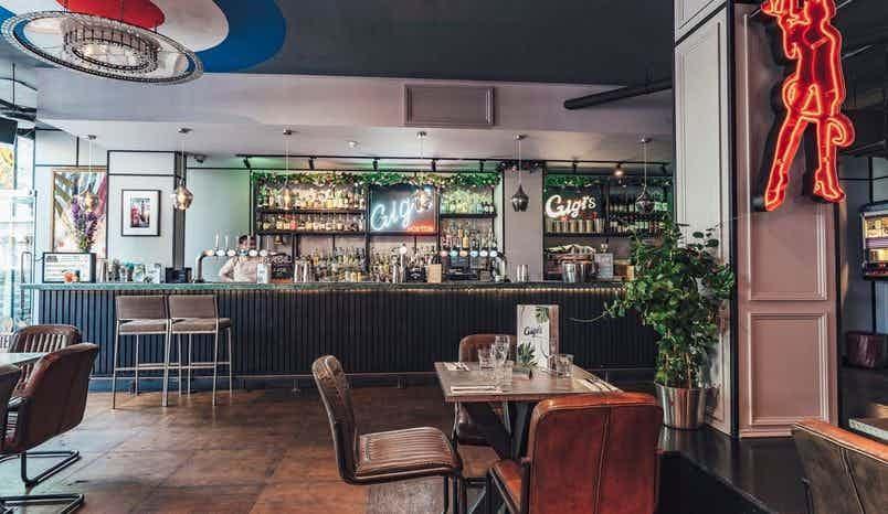 Main Bar, Gigi's Hoxton