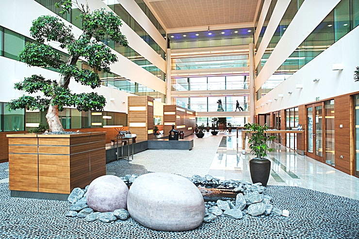 Zen Boardroom **Located on the ground floor, the Zen Boardroom has in-built audio visual equipment including Blue-Ray DVD Player, CD and VHS Player, TV Receiver (chargeable) and 5.1 surround system.**