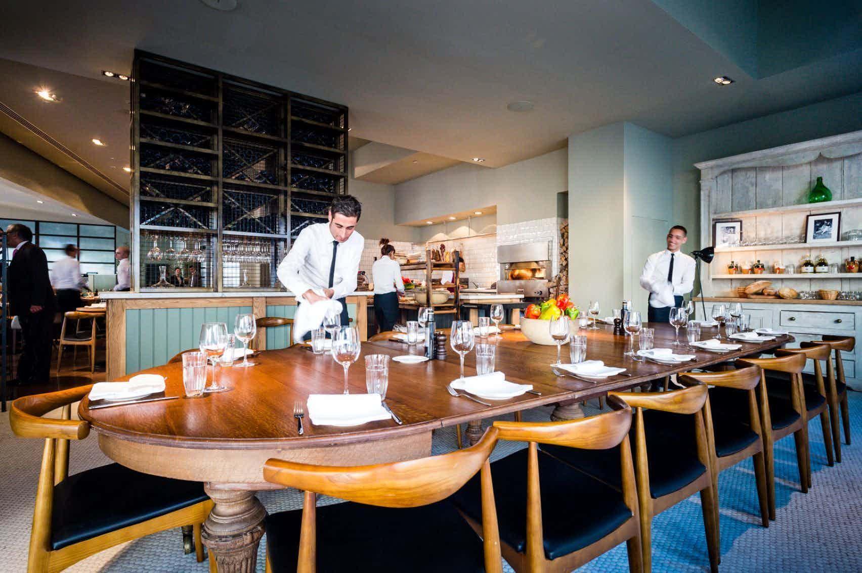 Semi-Private Dining Room, TOZI Restaurant & Bar
