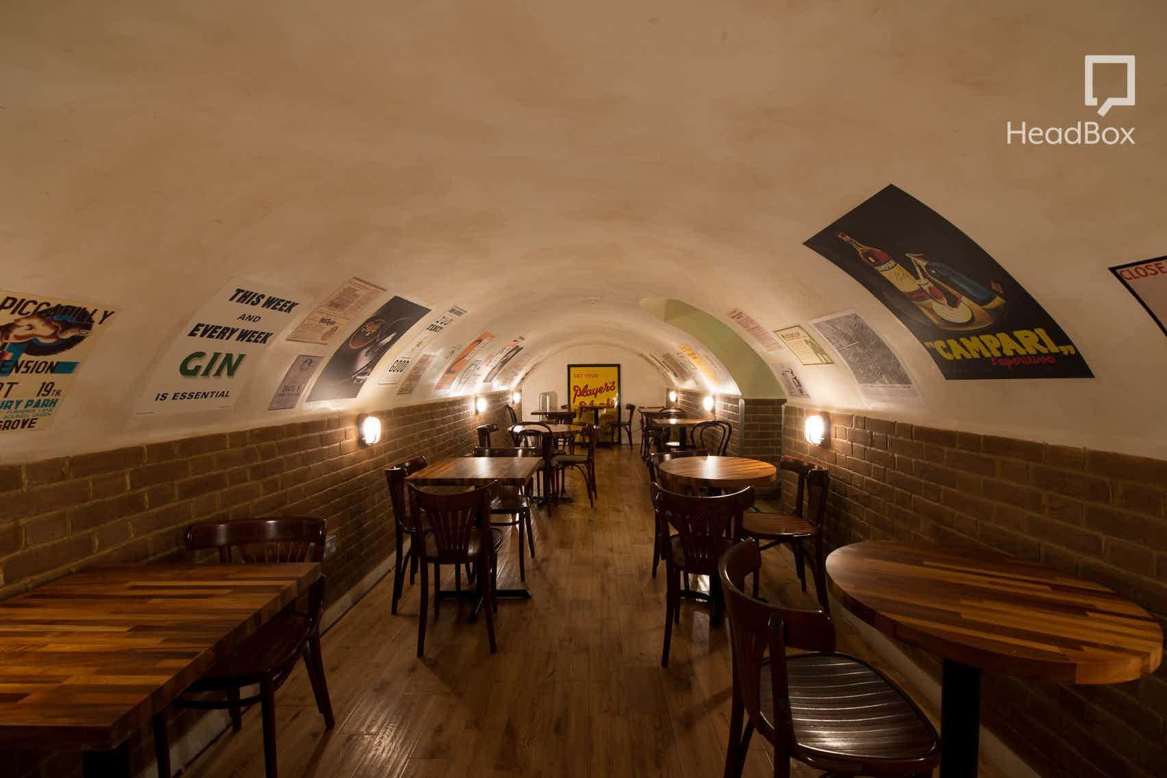 Downstairs Room, London Gin Club