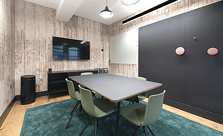 Pioneer **Pioneer at The Centro Building is a state-of-the-art meeting room for hire in Camden.**  Pioneer has been designed with your needs in mind, from its 6-person comfortable interior to its superfast Wi-Fi, LED screen and plug-and-play technology, look no further for your next meeting in colourful Camden.