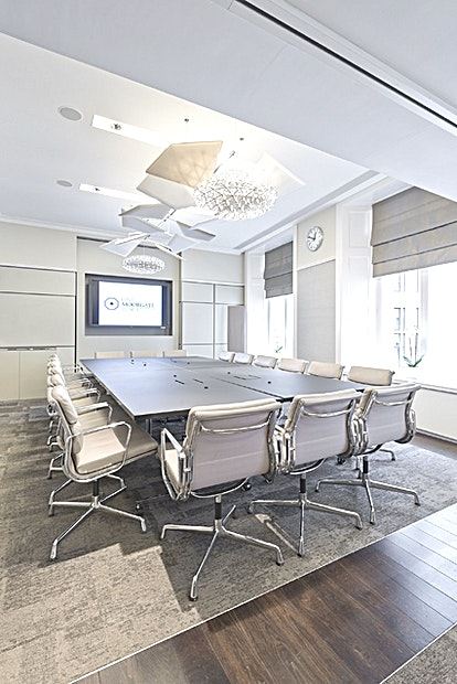 Room 1.5 The meeting rooms at One Moorgate Place speak for themselves. With over eight (SRR, BR, 1.2, 1.3, 1.4, 1.5, 2.1 & 2.2) to choose from, we can accommodate all types of meetings, from one to ones to lar