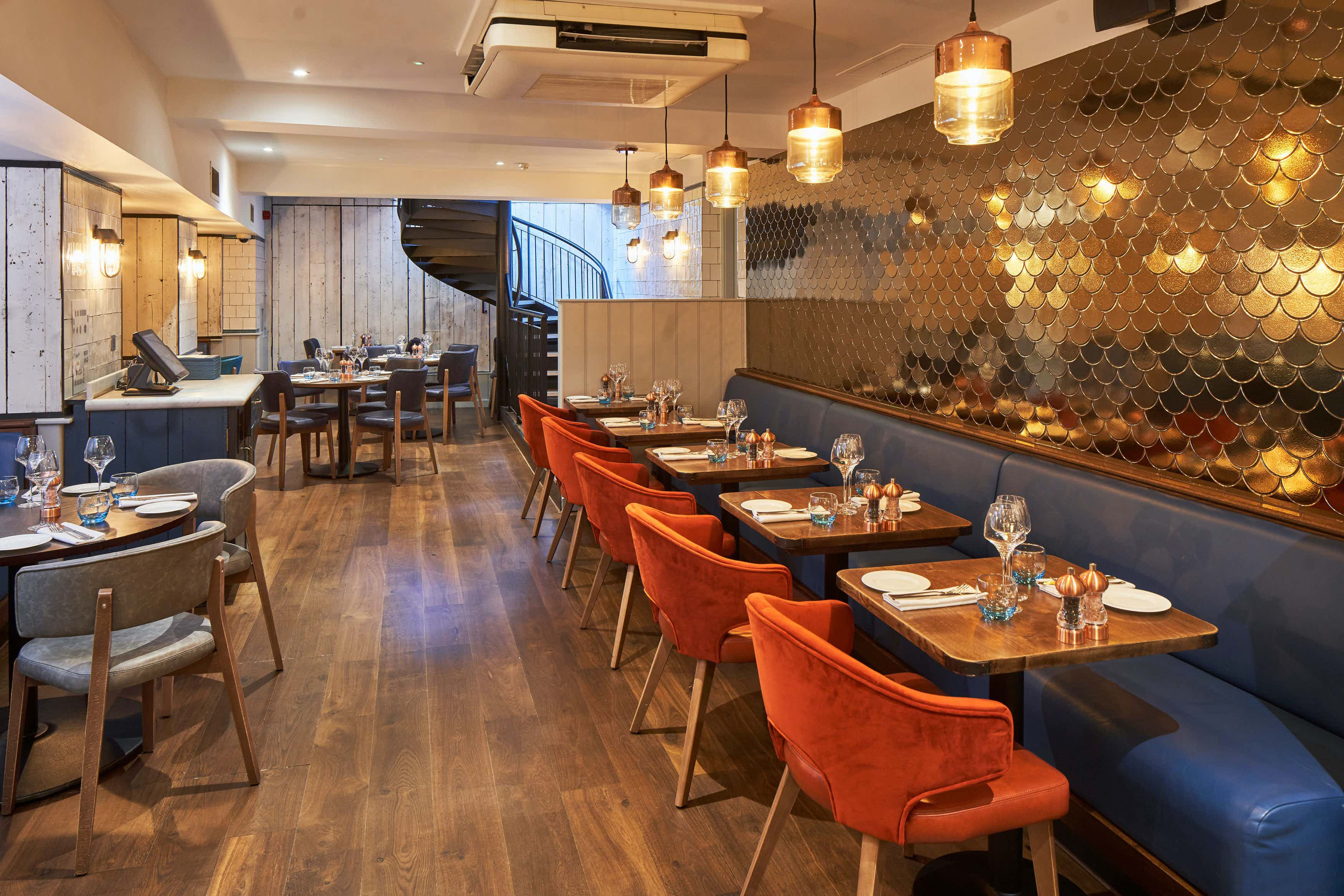 The Cove Private Dining, FishWorks Covent Garden