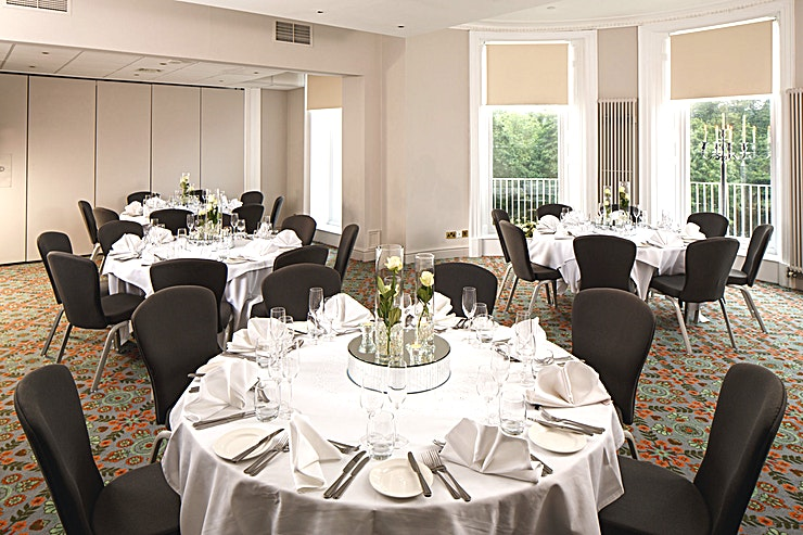 Presidential Suite **The Presidential Suite at Mercure Gloucester Bowden Hall Hotel is a stylish event venue for hire in Gloucester.**