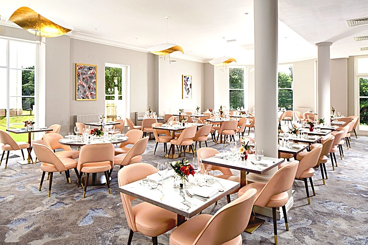 Dearman Suite **The Dearman Suite at Mercure Gloucester Bowden Hall Hotel is an atmospheric private event Space for hire in Gloucester.**  The Space holds up to 80 guests and is ideal for private lunches, intimate Weddings, Christenings, Baby Showers and Wakes.