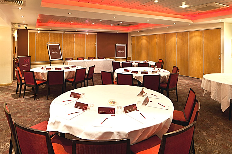 Buchanan Suite **The Buchanan Suite at the Mercure Glasgow City Hotel is a spacious function room for hire in Glasgow.**
