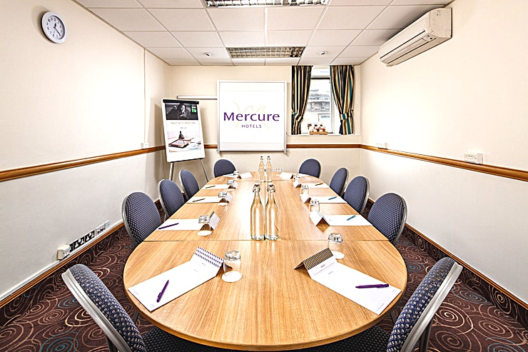 Merchant Suite **The Merchant Suite at the Mercure Glasgow City Hotel is a versatile meeting room for hire in Glasgow.**