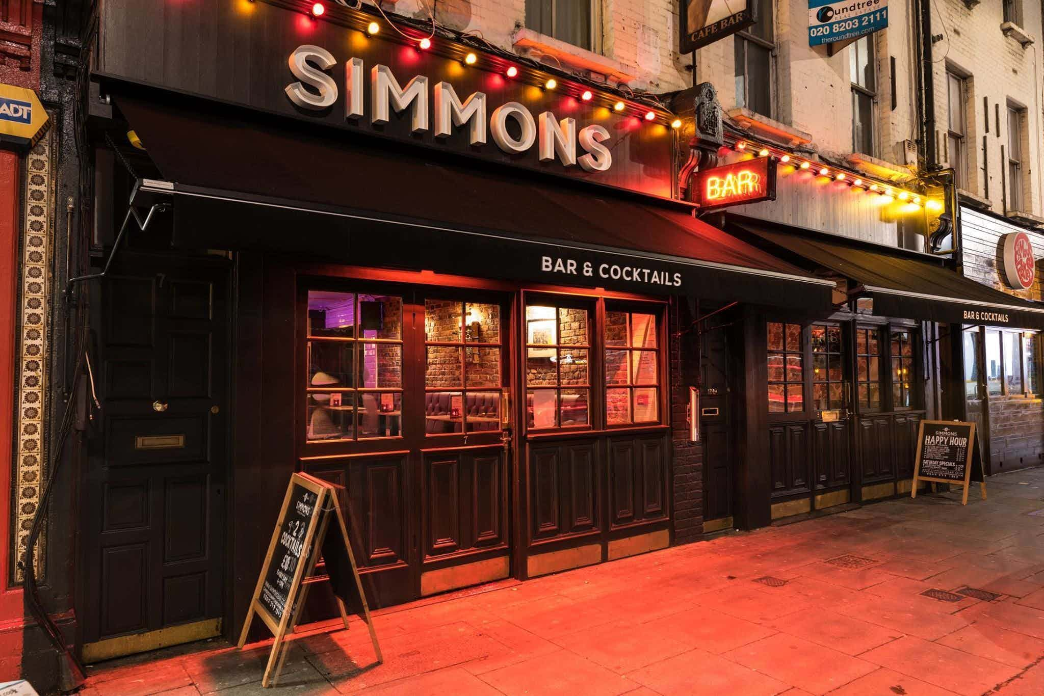 Function Room Hire, Simmons | Camden Town