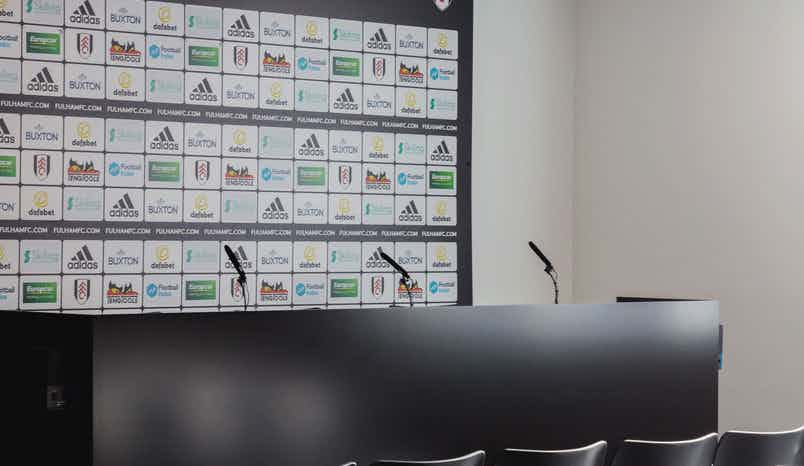 Press Room, Fulham Football Club, Craven Cottage