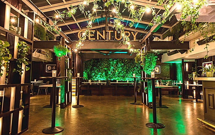 Roof Terrace **Roof Terrace, Century Club for a top option for summer party venue hire in London.**