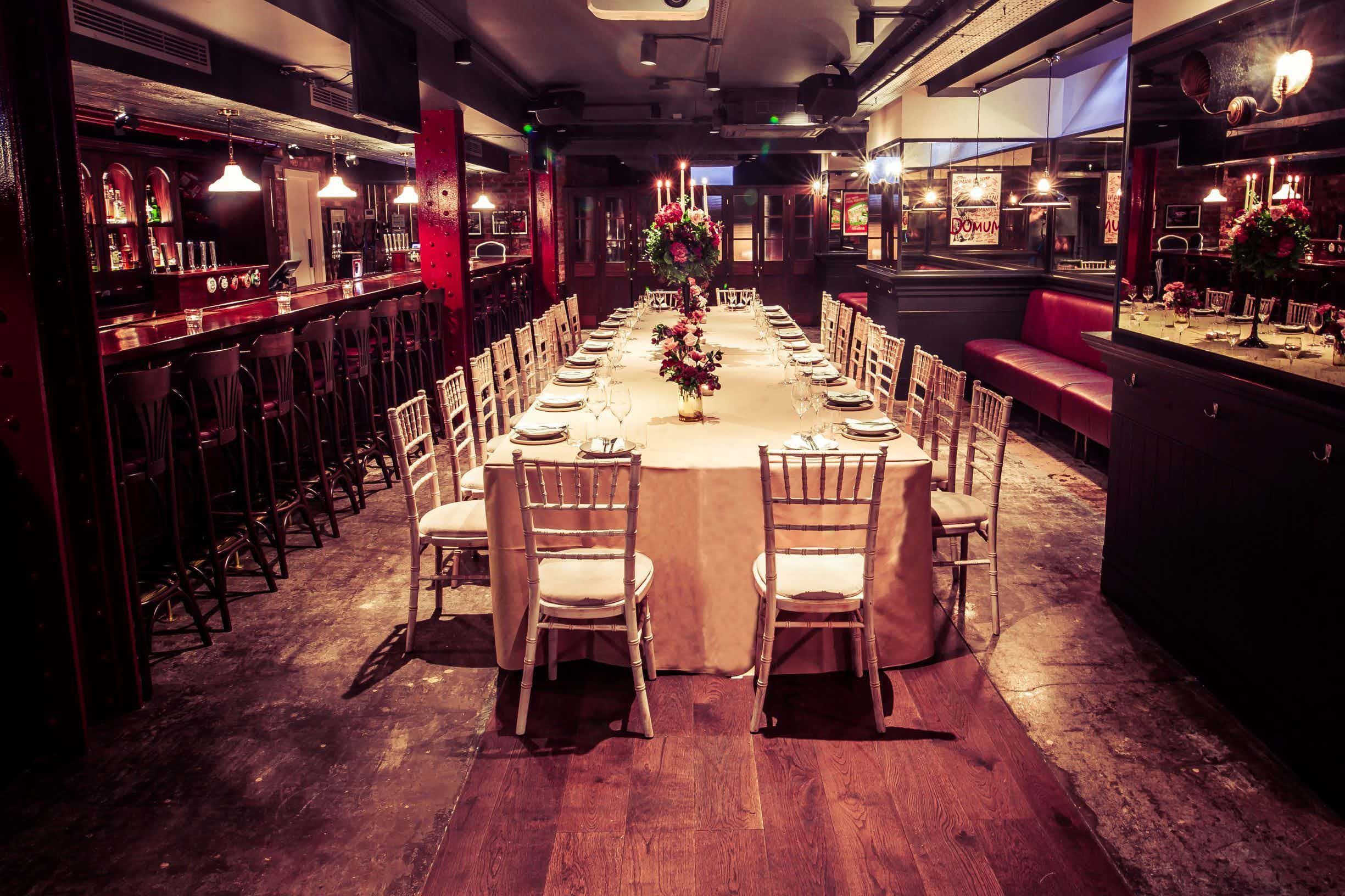 Private Dining, Daffodil Mulligan & Gibney's London