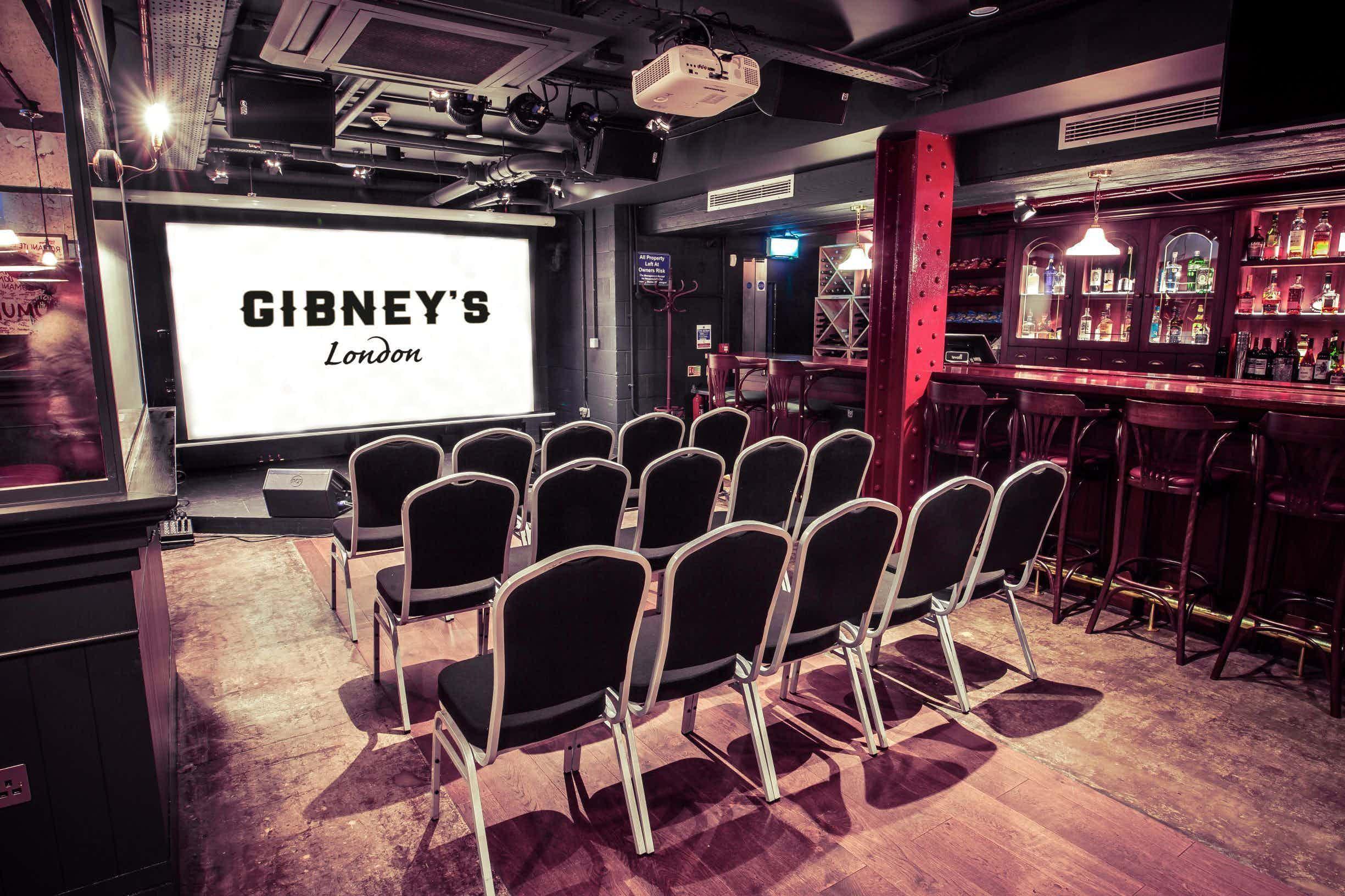 Meetings, Gibney's London