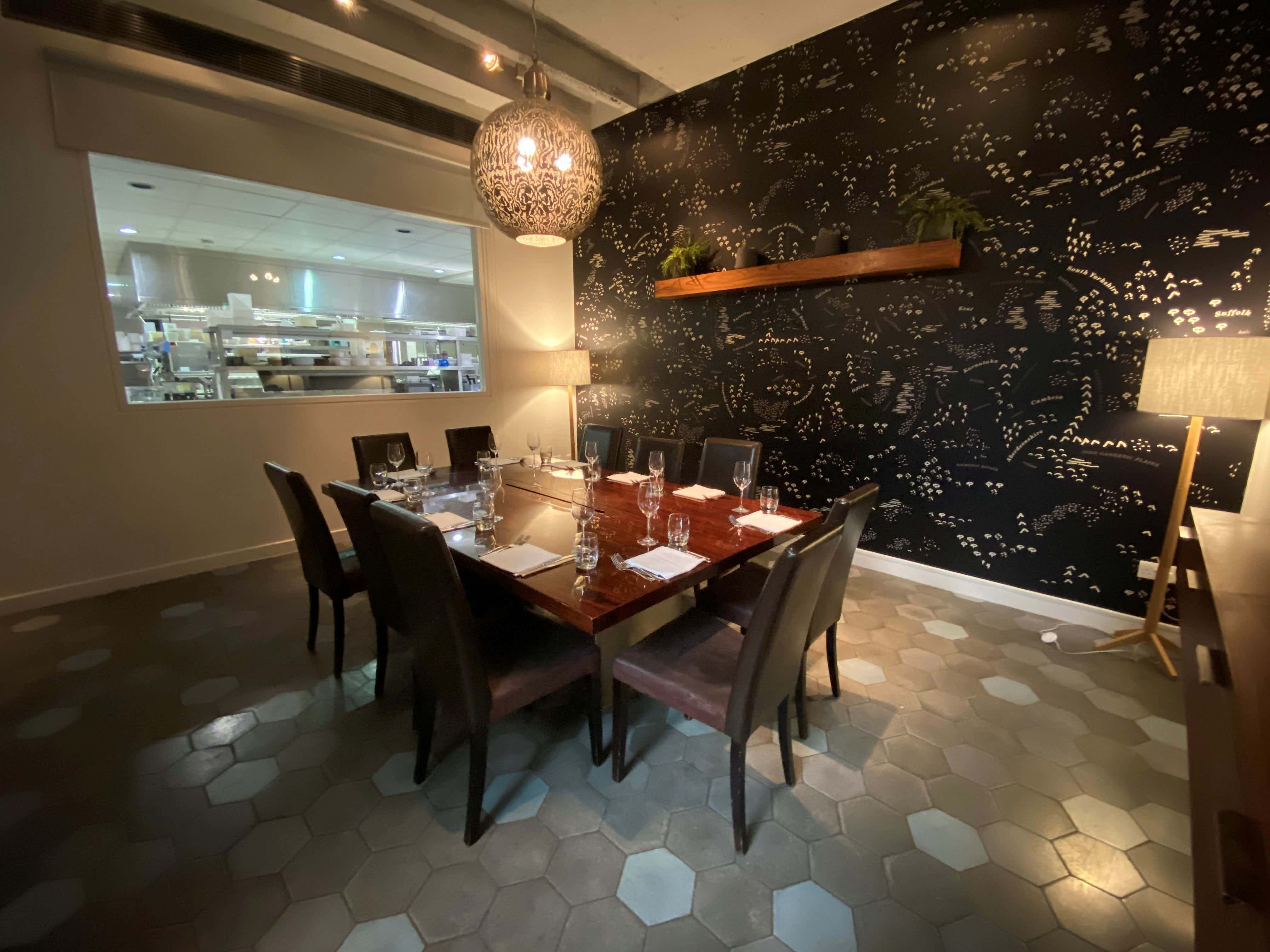 Private Dining Room, Cinnamon Kitchen