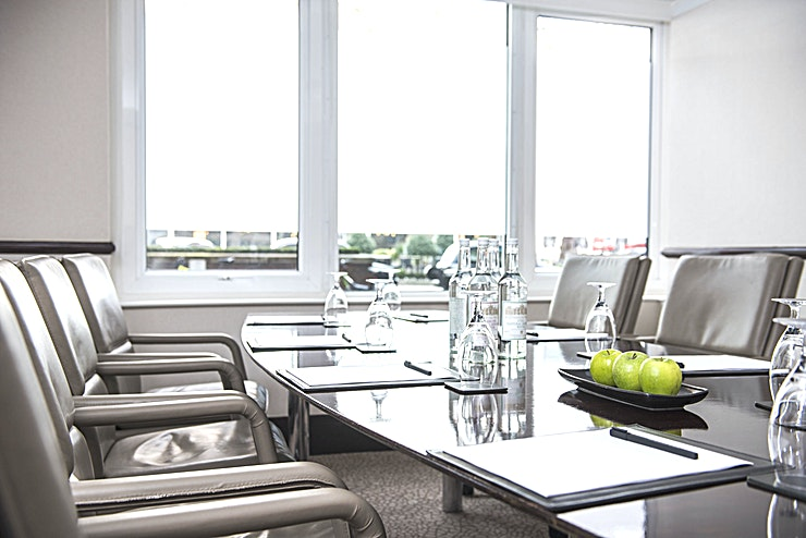 Boardroom 2 **Seeking a sophisticated Space to hold your next meeting? Boardroom 2 at Hyatt Regency London boasts a brilliant option**