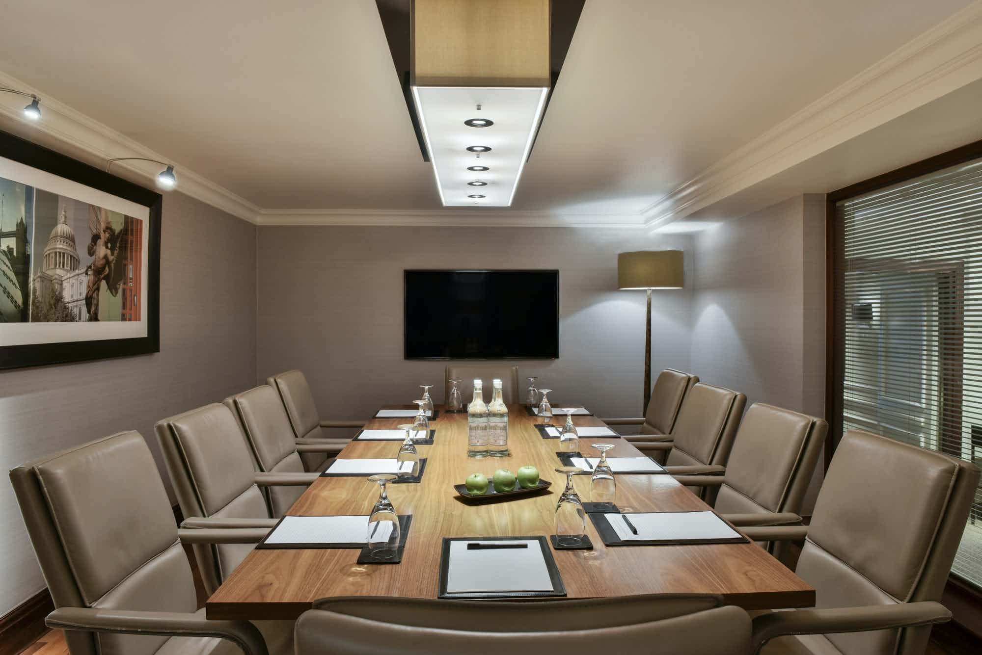 The Boardroom 1 Suite, Hyatt Regency London - The Churchill