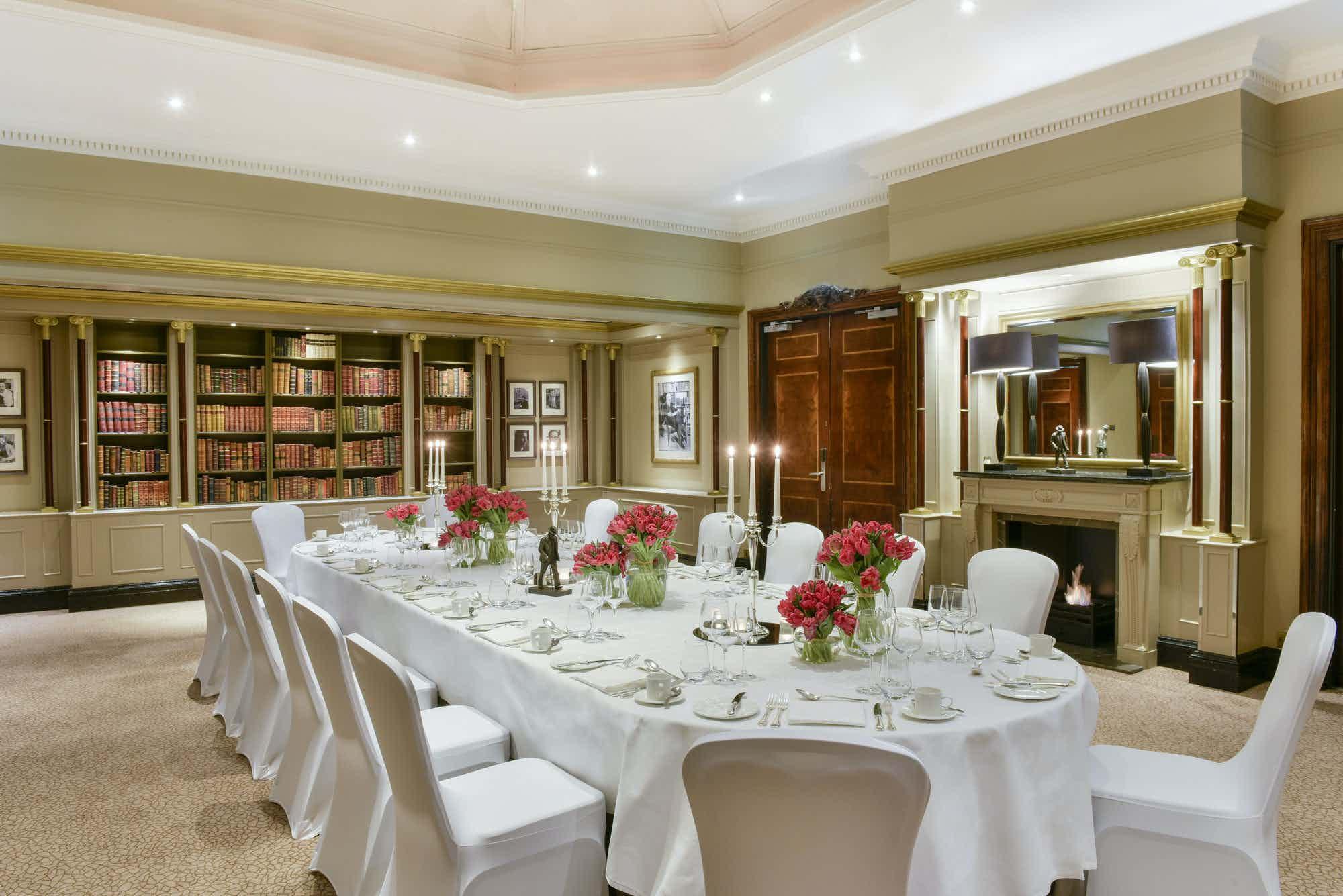 The Library Suite, Hyatt Regency London - The Churchill