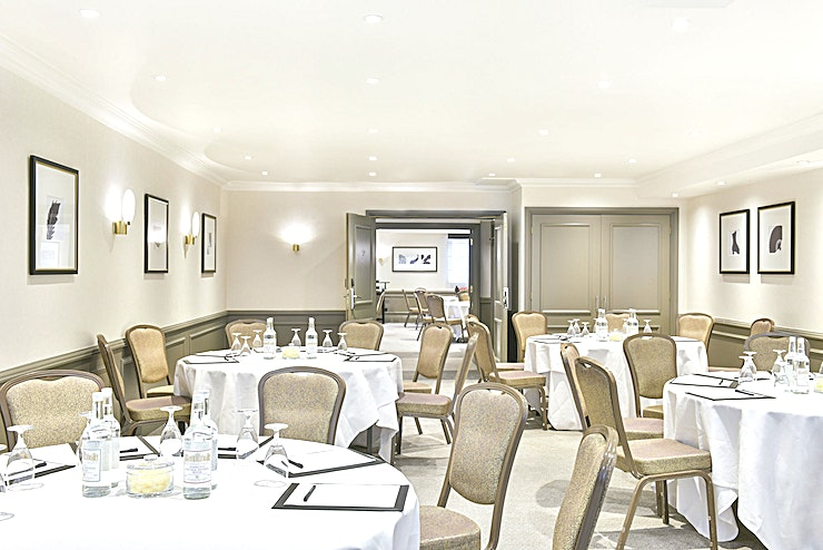 Marlborough Suite **Seeking a sophisticated Space to hold your next meeting? The Marlborough Suite at Hyatt Regency London boasts a brilliant option.**