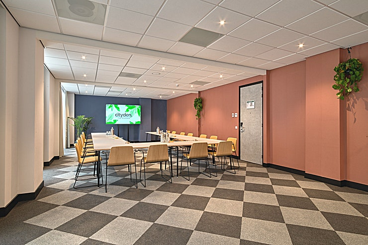 The Talent Room **The Talent Garden at Cityden The Garden is a multi-functional creative Space for hire in Amstelveen.**  At Cityden The Garden, every meeting is meaningful. Your (business) meeting fits perfectly i